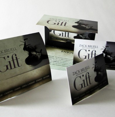 Zack Bruell Gift Card Package