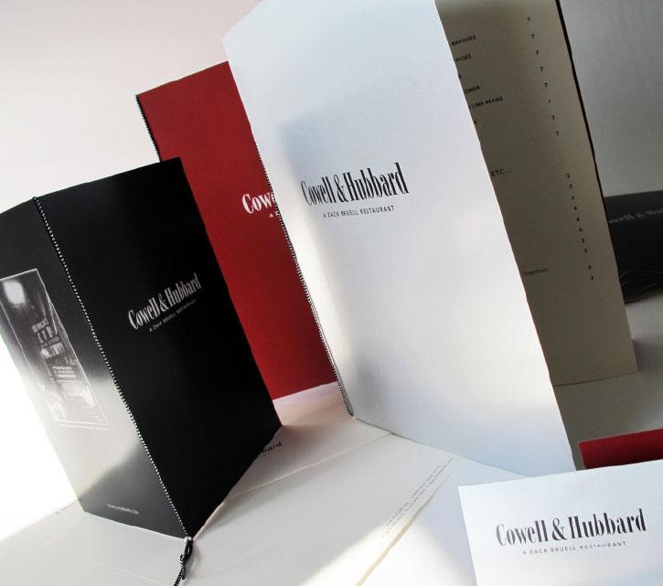 Cowell & Hubbard Menu System