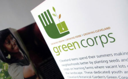 Cleveland Botanical Gardens GreenCorps