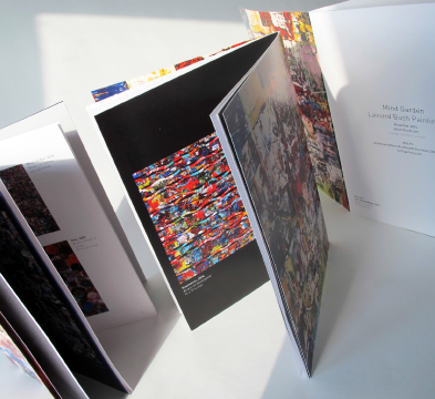 Lainard Bush Exhibit Brochure